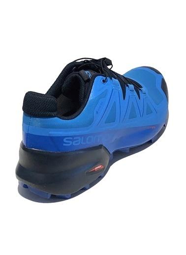 Salomon Speedcross 5 Gtx Erkek Outdoor Ayakkabı Blue Aster-Lapis Blue-Navy Blazer Renkli